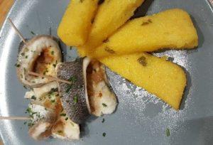 >Daurade aux citrons confit et polenta aux olives…