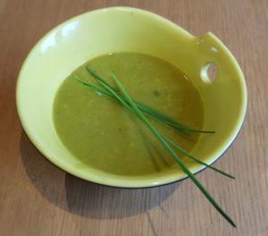 >Soupe d'asperges au maïs