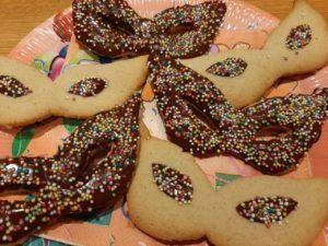 >Biscuits sablés de carnaval…
