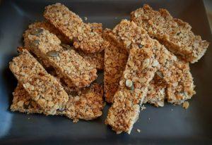 >Barres  aux céréales  pour le petit déjeuner ou  le goûter