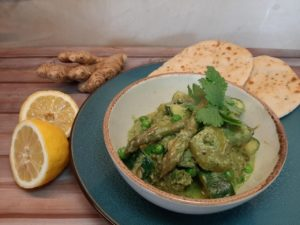 >Curry vert printanier